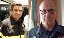 Macerata, avvicendamento per il Comando dei Vigili del Fuoco: arriva Giangiobbe, Patrizietti va a Taranto