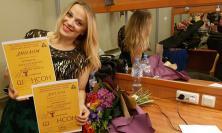 Civitanova, Anna Romiti vince un concorso canoro a San Pietroburgo (FOTO)