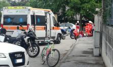 Civitanova, scontro fra moto: tre giovani feriti, uno in gravi condizioni (FOTO)