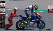 Moto 2, GP Catalogna: Lorenzo Baldassarri cade e perde il primo posto nel Mondiale
