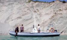 Falesia, ancora frane lungo il litorale del Conero