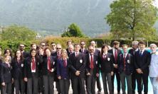 Esibizione sul Lago d'iseo per il Corpo Bandistico Città di Appignano