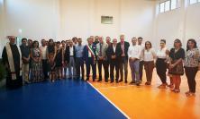 """Tolentino, inaugurata la nuova palestra annessa all'Istituto """"G. Lucatelli"""""""