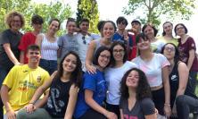 Macerata, il Liceo Leopardi agli scavi di Urbisaglia
