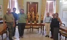 Potenza Picena, restaurate quattro statue del 1600 grazie all'Art Bonus