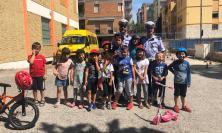 """Macerata, corso di educazione stradale della Polizia Locale al centro """"Estate Giochi Sport"""""""