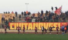 """Sangiustese in campo a Civitanova. I tifosi storici dicono: """"No grazie!"""""""