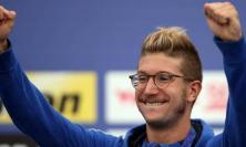 Simone Ruffini quarto nella gara di 25 chilometri ai Mondiali di Nuoto: la gioia della sua Tolentino