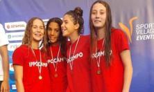 Ippocampo Civitanova: 14 medaglie vinte ai Campionati Regionali estivi di nuoto