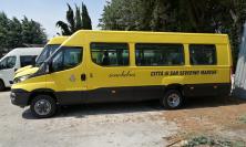 San Severino, nuovo scuolabus per il servizio di trasporto scolastico