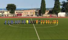 Allenamento congiunto tra Recanatese e Fermana: la partita termina 2-2