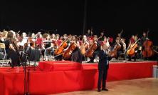 Camerino, grande successo per il tour estivo della ESYO Orchestra & Paolo Rumiz