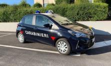 Civitanova, anche la Benemerita diventa  ibrida: consegnata una nuova Toyota a sevizio dell'Arma