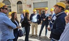 """""""A tre anni dal sisma la ricostruzione che non c'è"""": delegazione di Fratelli d'Italia in visita sul territorio"""