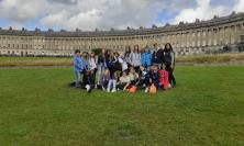 """Macerata, gli studenti della scuola """"Mestica"""" in vacanza-studio in Inghilterra (FOTO)"""