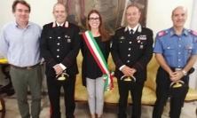 Il sindaco incontra il nuovo comandante della Stazione dei Carabinieri di Porto Potenza Picena