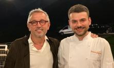 Civitanova, chef Bruno Barbieri a cena da... Simone Scipioni (FOTO)