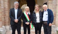 San Severino, Novello Bartolacci, emigrato settant'anni fa in Argentina, fa visita al sindaco Piermattei (FOTO)