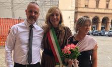 Macerata, Luca e Rosanna sposi alla biblioteca Mozzi Borgetti (FOTO)