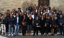 In 100 per festeggiare i cinquantenni di Corridonia