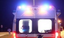 Macerata, incidente alla rotatoria: una donna al pronto soccorso