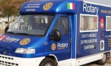 Il Rotary fa prevenzione in camper: un weekend all'insegna della salute a Recanati e Porto Recanati