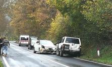 Pieve Torina, auto contro cinghiale: 28enne al pronto soccorso
