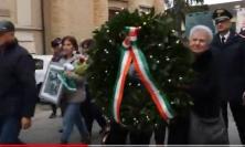 Macerata, Villa Potenza ricorda i caduti di tutte le guerre (VIDEO)
