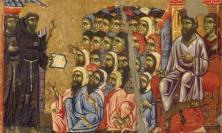 """""""Francesco e il sultano"""": taglio del nastro per la mostra a San Severino"""