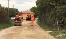 Civitanova, iniziati i lavori in via Doria: investiti 88mila euro per la sistemazione del manto stradale