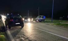 Recanati, scontro fra quattro auto all'incrocio: madre e figlio al Pronto Soccorso (FOTO)