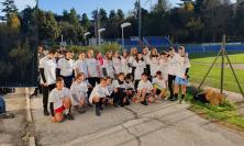 Tolentino, l'Istituto Lucatelli primeggia nel torneo provinciale di corsa campestre