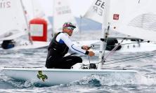 Porto Recanati, il velista Stefano Angeloni alla Canarian Olympic Sailing Week