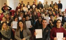 Servizio civile a Macerata, consegnati gli attestati di frequenza ai volontari