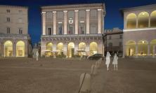 Macerata, nuova luce per piazza della Libertà con il progetto di light design