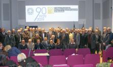 Macerata, i geometri festeggiano i 90 anni della professione: premiati gli iscritti da più di 40 anni
