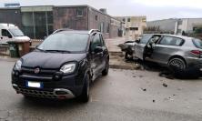 Tolentino, incidente in via Sacharov: due feriti al pronto soccorso