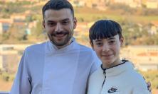 Civitanova, la stella di X Factor Sofia Tornambene a pranzo dallo chef Simone Scipioni