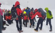 Sarnano, frequentare la montagna in sicurezza: a lezione dal Soccorso Alpino
