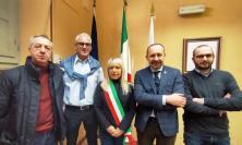 San Severino, il sindaco Piermattei incontra il senatore Paolo Arrigoni in Municipio