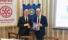 Luigiaurelio Pomante nuovo socio del Rotary Club di Macerata