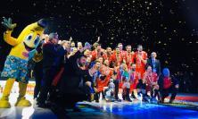 È festa grande per la Lube: patron Giulianelli balla con la squadra (FOTO e VIDEO)