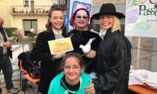 Passo di Treia, il Carnevale non si ferma: sfilata di carri e musica con Le Donatella ( VIDEO e FOTO)