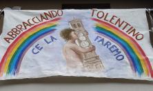 """""""Abbracciando Tolentino ce la faremo"""": l'opera di Enzo Grassettini (FOTO)"""