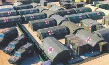 Emergenza Covid-19, la Marina Militare arriva nelle Marche con un ospedale da campo