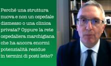 """100 posti letto di terapia intensiva, Ceriscioli: """"Ecco perché abbiamo scelto Civitanova"""" (VIDEO)"""