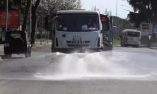 Macerata: nel fine settimana nuova sanificazione delle strade