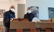 Lega, Patassini e Merlini donano visiere a camici a tutti i medici di base del Maceratese
