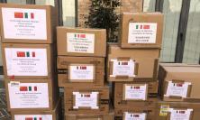 Macerata, dalla città amica di Taicang arrivano in dono 38.400 mascherine