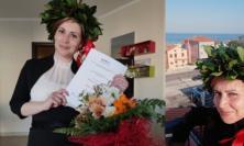 Porto Potenza, laurea al tempo del coronavirus: Chiara Carosetti diventa dottoressa da casa